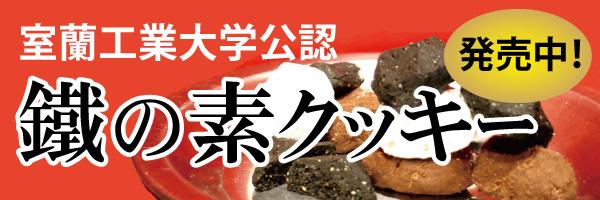 室蘭工業大学公認 鐵の素クッキー